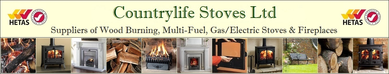 Countrylife Stoves Ltd, suppliers of woodburning, multifuel, gas, electric stoves and fireplaces