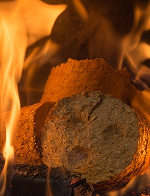 Burning Briquettes