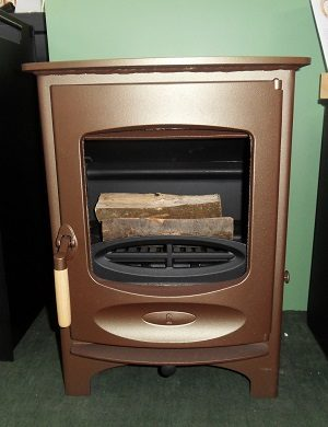 Charnwood C Six Multifuel Stove in Bronze