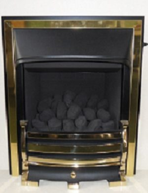 Valor Trueflame Convector Fire Natural Gas Conventional Chimney