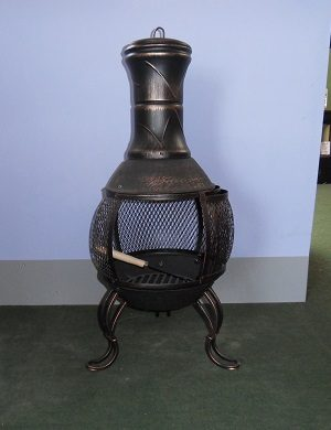Small Chimnea With Free Cover