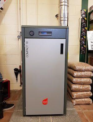 Compact 18kW Pellet Boiler
